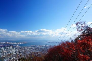 神戸 ロープウェイ ケーブル
