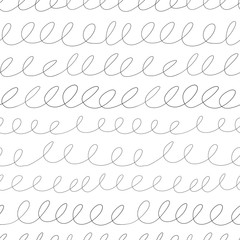 Doodle background. Seamless pattern.Vector. らくがきパターン