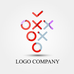 grape for wine logo company product, vector logo, sign, or symbol concept for startup company