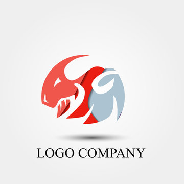 sheep competition vector logo, sign, or symbol concept for startup company