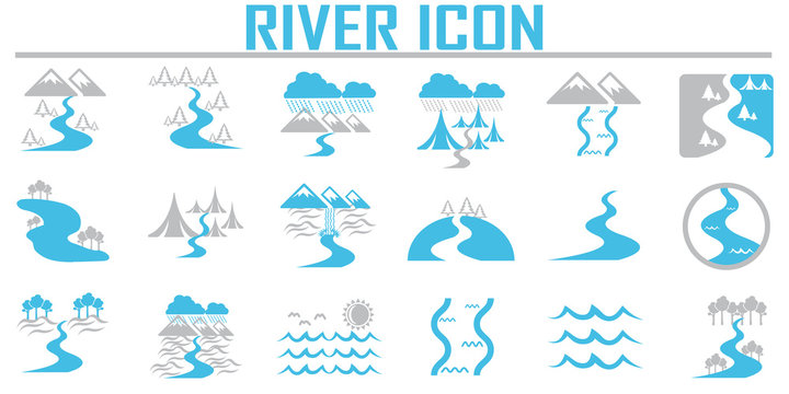 River  and Landscape icons.