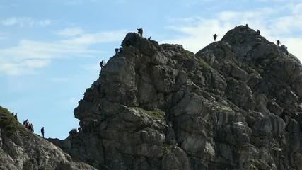 Klettersteig Oberstdorf : Oberstdorf jährige stürzt am hindelanger klettersteig