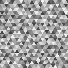 Seamless triangle pattern. Wallpaper of the surface. Tile background. Print for polygraphy, posters, t-shirts and textiles. Unique texture. Doodle for design