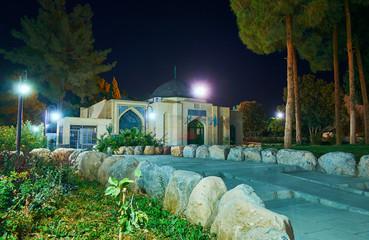 Explore Enghelab park of Kerman, Iran