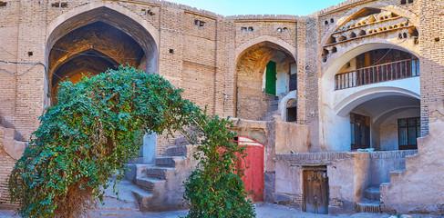 Medieval architecture of Kerman caravanserai, Iran