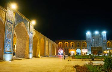 Evening walk in Kerman, Iran