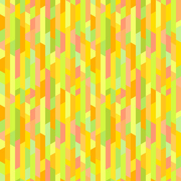 Seamless multicolored pattern. Abstract tile wallpaper of the surface. Bright colors. Template for polygraphy, posters, t-shirts and textiles