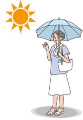 シニアの熱中症の対策 服装
