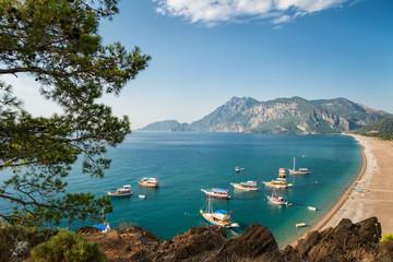 Beautiful Mediterranean coast