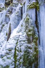 Ftozen waterfall