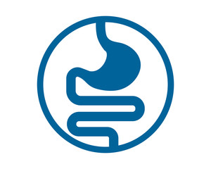 blue ulcer medical medicare health care pharmacy clinic image vector icon logo