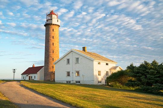 Leuchtturm Lista Fyr im Morgenlicht