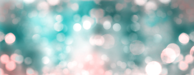 Blurred background with sparkle spots