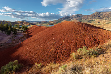 Painted Hills of John Day Fossil Beds National Monument, Oregon, USA
