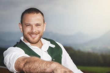 Bavarian tradition male