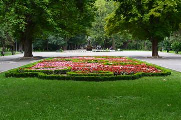 Foto op Plexiglas Tuin In the Garden