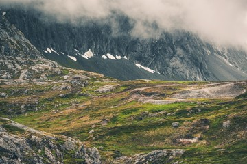 Wall Mural - Norway Mountains Landscape