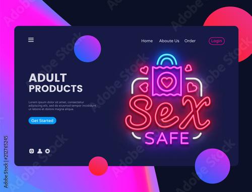 Mobile adult website