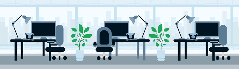 office working desk lunch break asian food concept template for design work and animation banner flat vector illustration