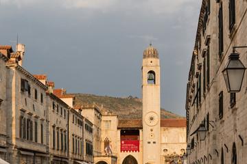 Building landmarks in Dubrovnik