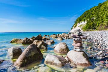 Fototapete - Die Ostseeküste auf der Insel Rügen