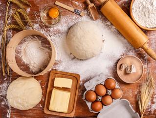 Dough recipe ingredients