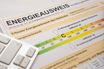 Energieausweis zum Stromverbrauch um Strom zu sparen