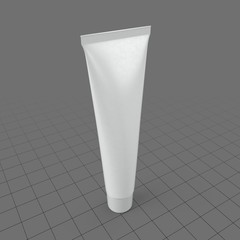 Long cosmetic tube