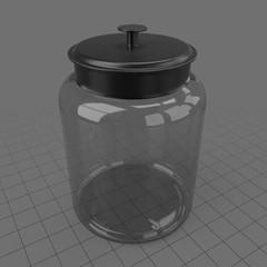 Modern storage jar