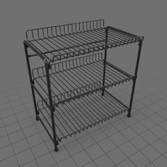 Tabletop rack
