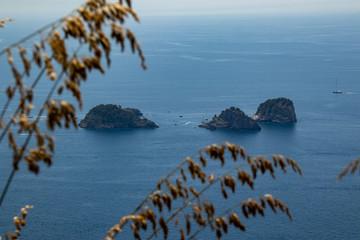 Li Galli Islands on Amalfi Coast, Italy