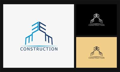 E construction logo