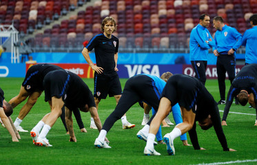 World Cup - Croatia Training