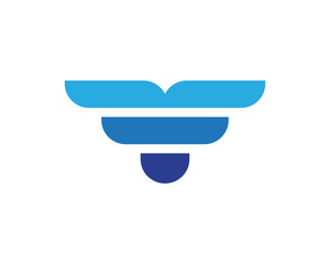 finance logo and symbols vector concept illustration
