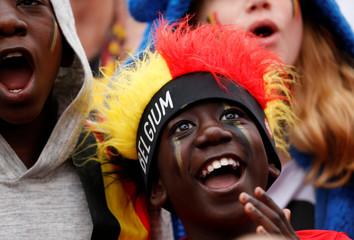 Soccer Football - World Cup - Semi-Final - France v Belgium