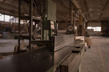 Vintage machine in workshop