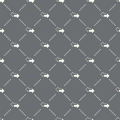 seamless Transfer arrows pattern on a dark background. Transfer arrows icon creative design