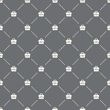 seamless portfolio pattern on a dark background. portfolio icon creative design