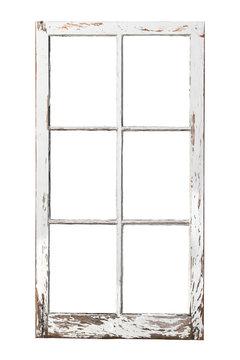 Old 6 pane window