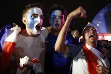Soccer Football - World Cup - Semi Final - France v Belgium