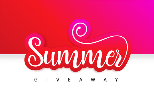 Summer Giveaway Contest Banner. Enter to Win