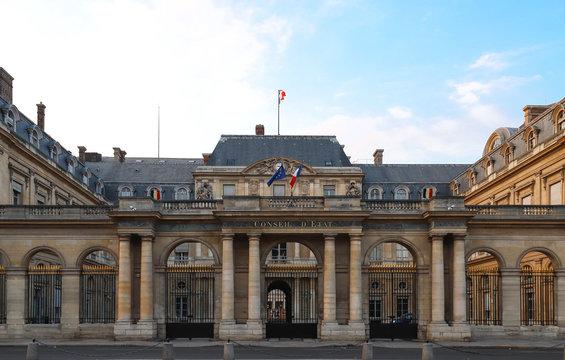 The Conseil d Etat Council of State , Paris, France.