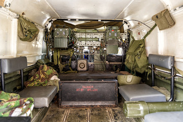 Military Army Transport Carrier Equipment and Supplier - Interior View