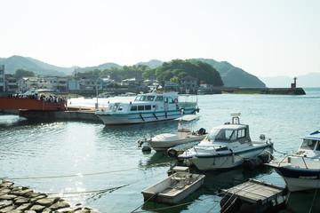 広島県 大久野島(うさぎ島)-忠海港