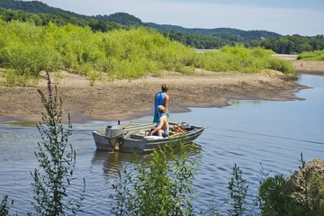 Outdoor Fun - Going Fishing - Camping and Rural Vacation - Lifestyles and Vacations.