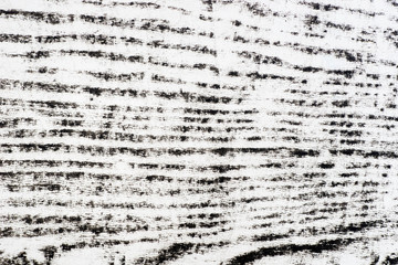 black wood texture pattern crayon drawing on white background