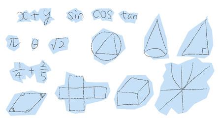 数学 鉛筆描き