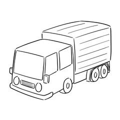 vector of truck