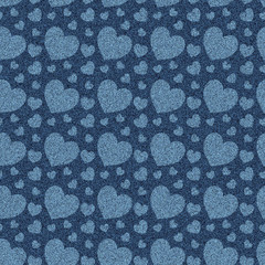 seamless denim jeans pattern background
