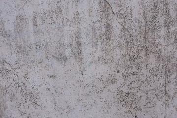 Urban wallpaper of shabby porous white concrete wall texture. No people.
